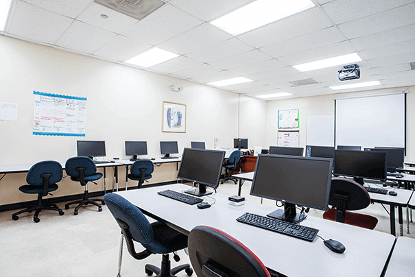 Business Office Administration Lab 2 at FCC West Palm Beach Vocational Training Program - Florida Career College