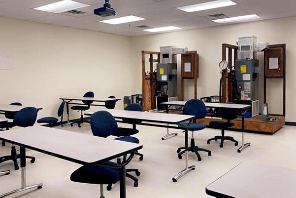 HVAC Lab 3 at FCC Jacksonville Trade School Campus - Florida Career College