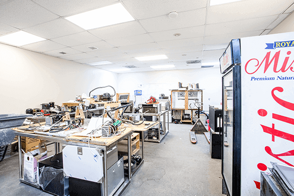Heating Ventilation and Air Conditioning (HVAC) Lab 1 at FCC West Palm Beach Trade School Campus - Florida Career College