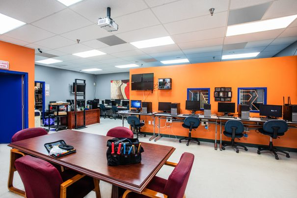 Computer and Network Technician Lab 2 at FCC Miami Vocational Training Program - Florida Career College